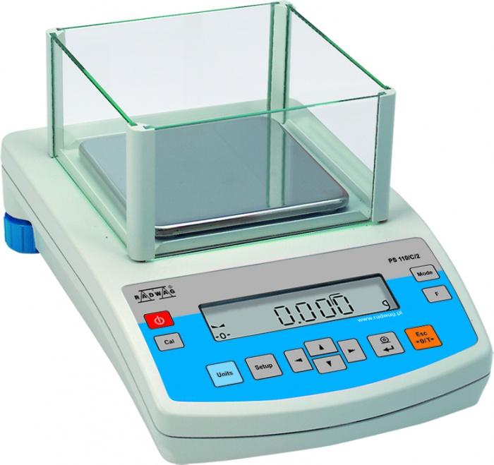Лабораторные весы Radwag PS 1000/C/2