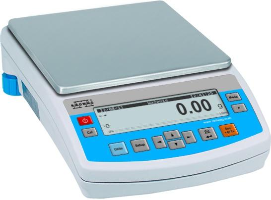 Лабораторные весы Radwag PS 1200/C/2