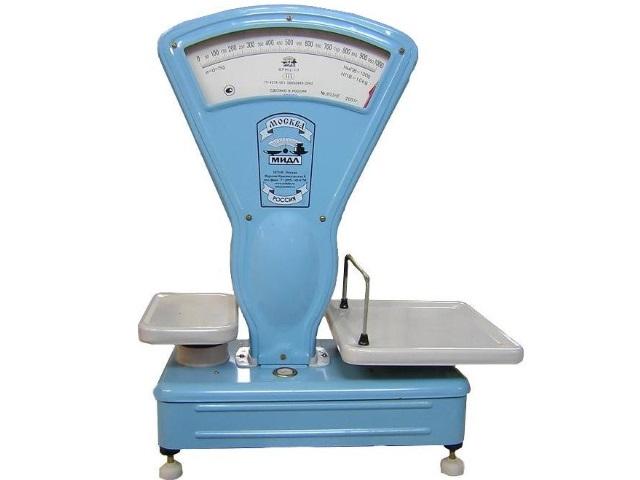 Механические весы ВРНЦ-10