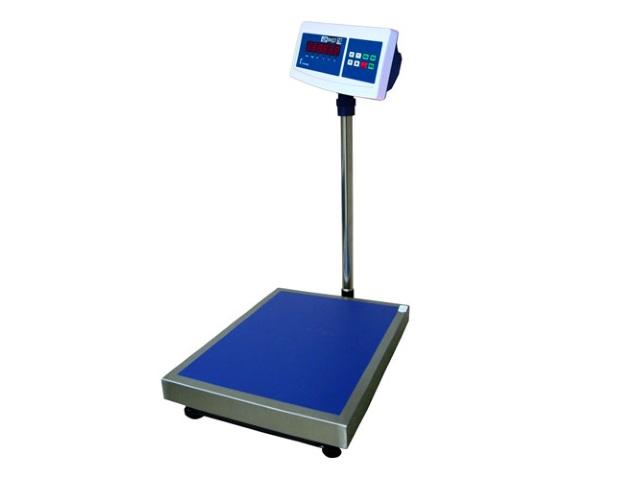 Напольные весы МП 150 ВД(Ж)А Ф-2 (20г;450х600) Гулливер 12