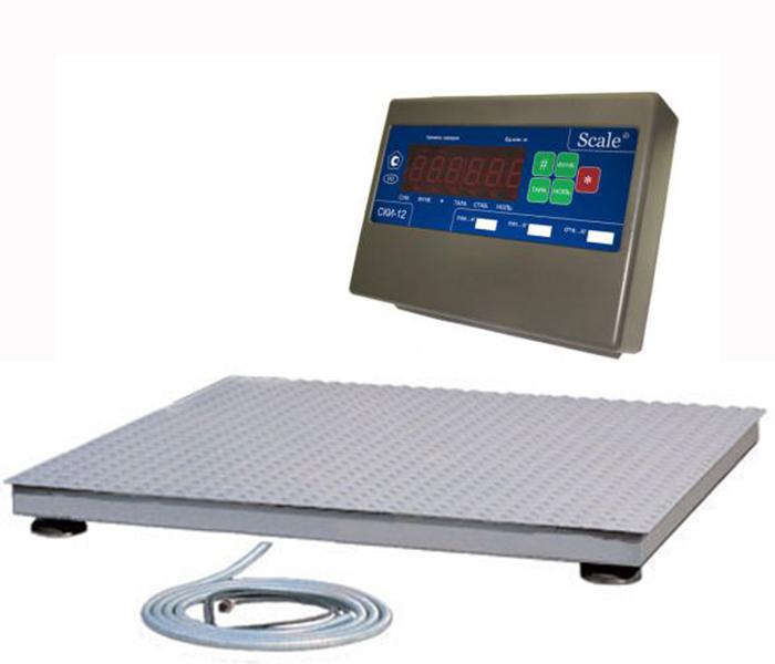 Платформенные весы 0,5СКП-1520(СКИ-12)