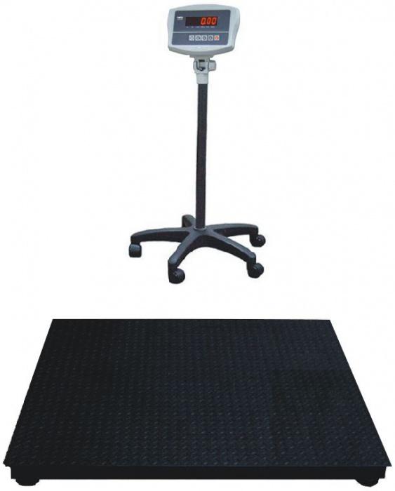 Платформенные весы ЕВ4-600(WI-2R)-1515