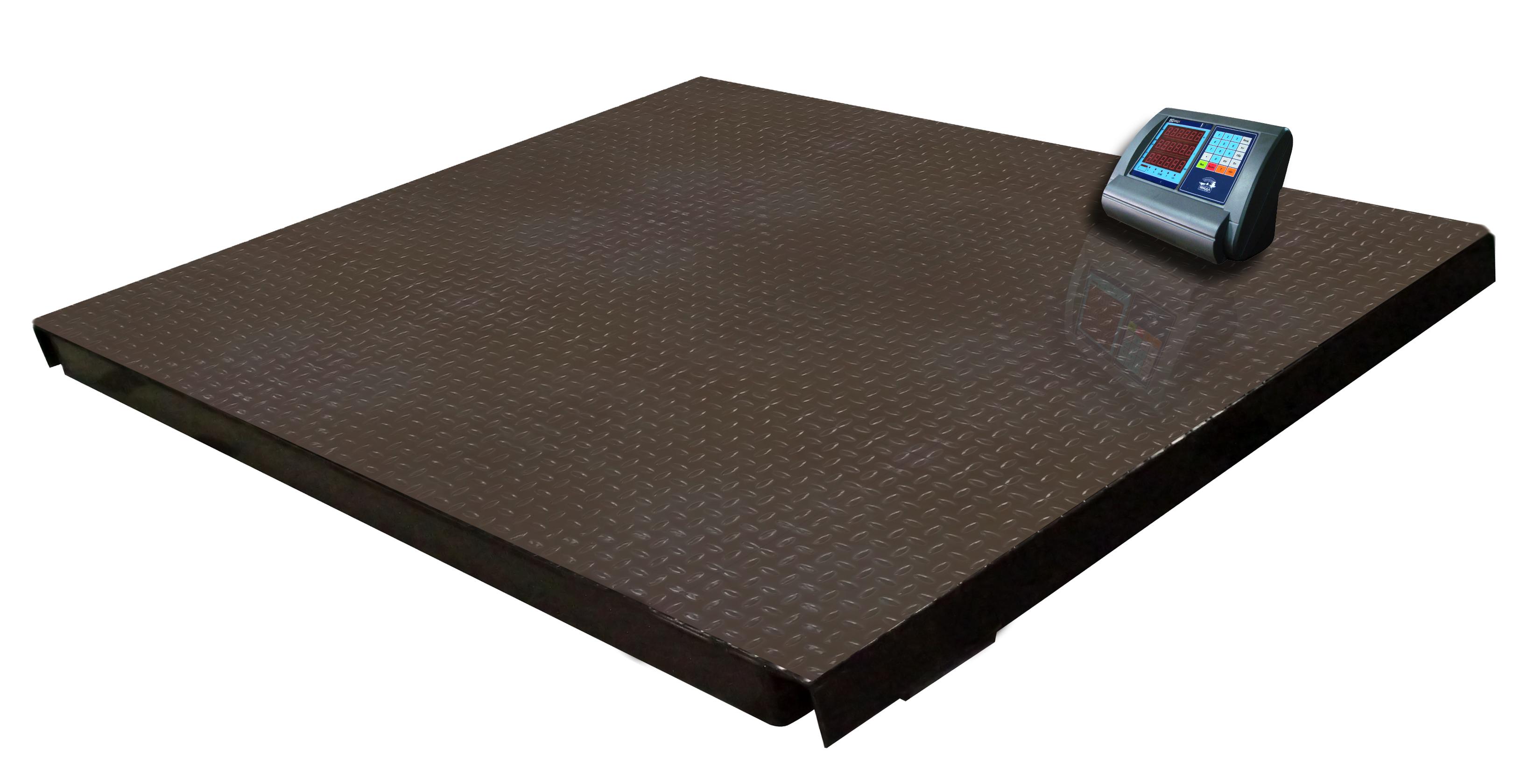 Платформенные весы МП 3000 ВЕДАФ1(1000;1200х1500) циклоп 06