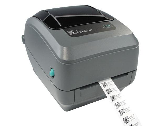 Термотрансферный принтер этикеток GK420t