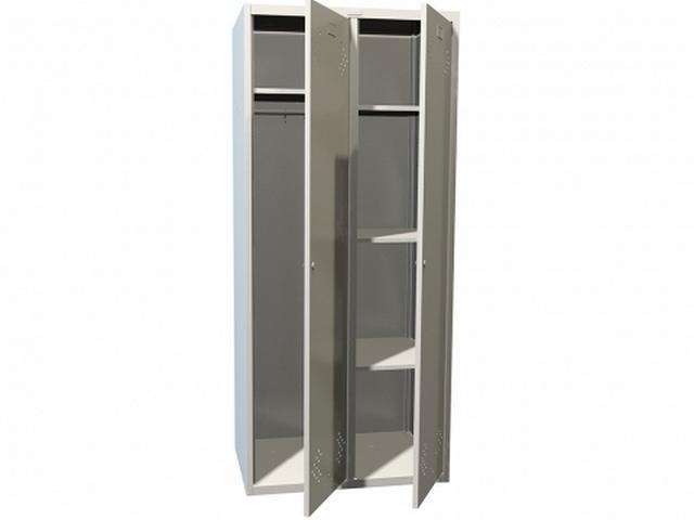 Шкаф для одежды Практик LS(LE)-21-80U