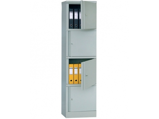 Шкаф металлический для документов Практик AM-1845/4
