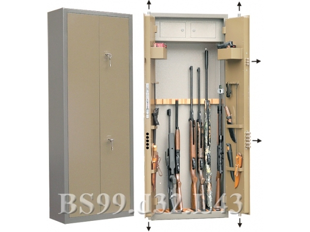 Сейф Gunsafe BS99 d32 L43