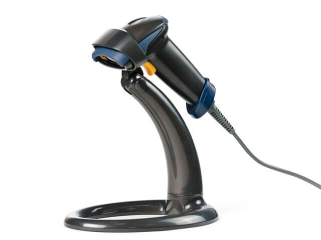 Современный сканер для считывания штрих-кодов Атол SB 1101 USB (С подставкой)