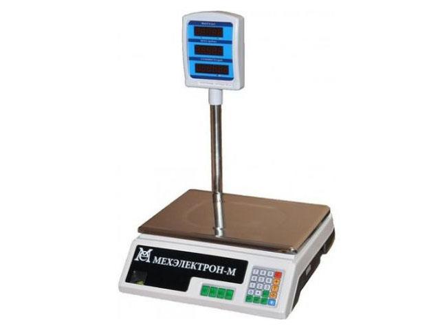 Торговые весы со стойкой BP 4900 15 5 СДБ 05