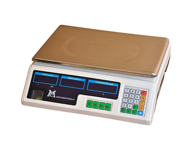 Торговые весы без стойки BP 4900 15 5ДБ 06