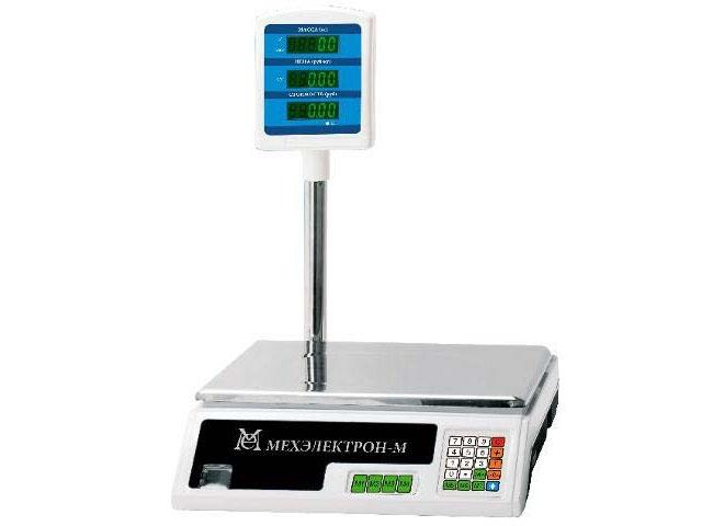 Торговые весы со стойкой BP 4900 30 5 САБ 05