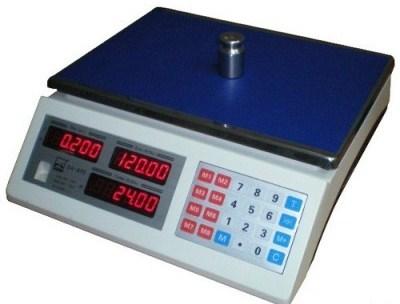 Торговые весы GreatRiver DH-218 LCD