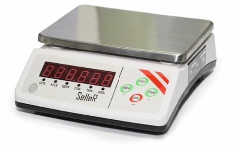 Торговые весы SL-100-6 LED