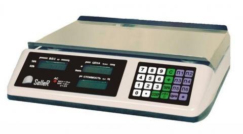 Торговые весы SL-201B-15 LCD v2