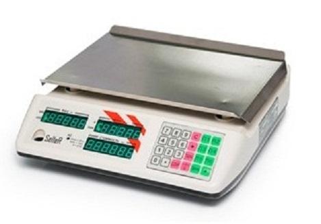 Торговые весы SL-201B-15 LED v2 GREEN