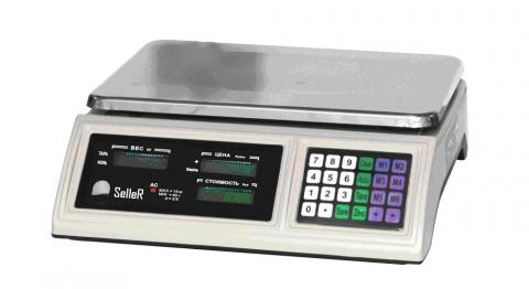 Торговые весы SL-201B-6 LCD