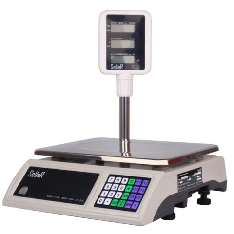 Торговые весы SL-201P-15 LCD