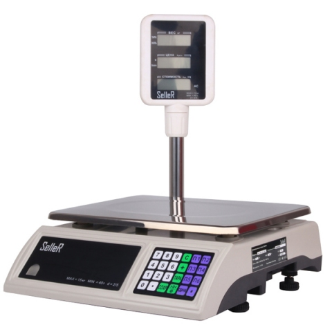 Торговые весы SL-201P-30 LCD
