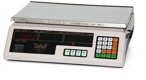 Торговые весы SL-202B-15 LED