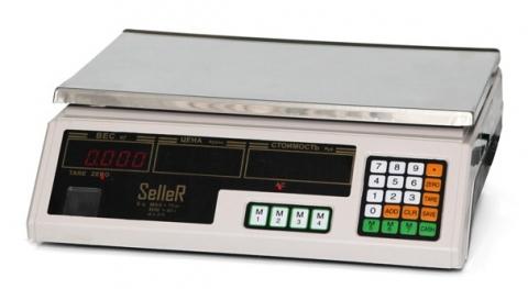 Торговые весы SL-202B-6 LCD v2