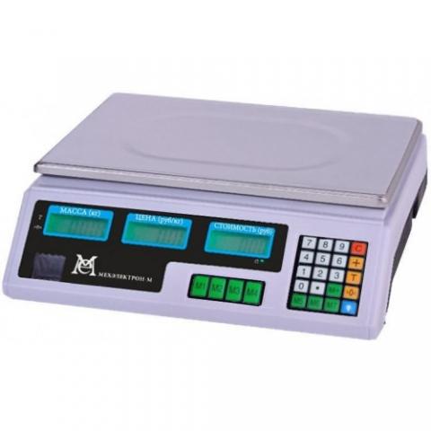 Торговые весы ВР 4900-15-2АБ-06