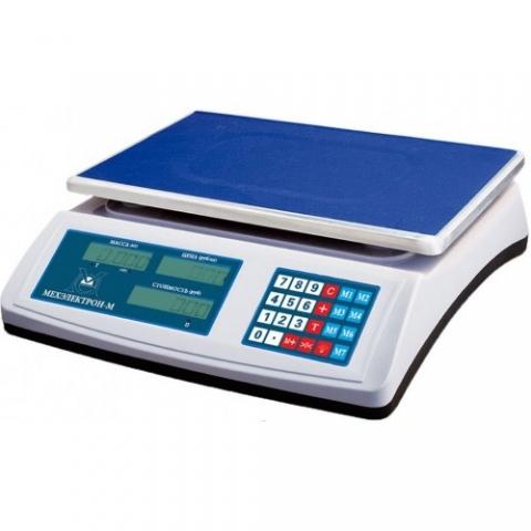 Торговые весы ВР 4900-15-2АБ-08