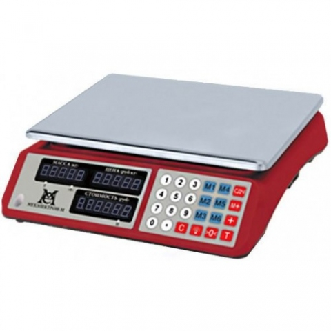 Торговые весы ВР 4900-15-2ДБ-04М