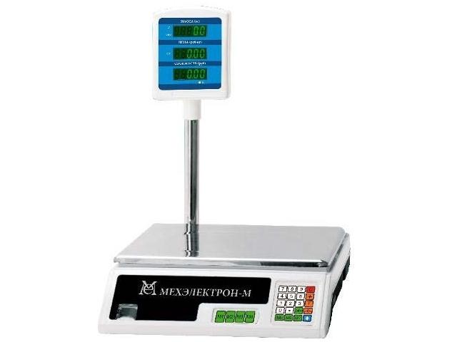 Торговые весы ВР 4900-15-2САБ-05