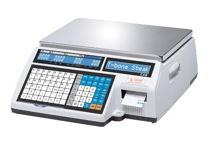 Весы с принтером этикеток CAS CL-5000J-06IB