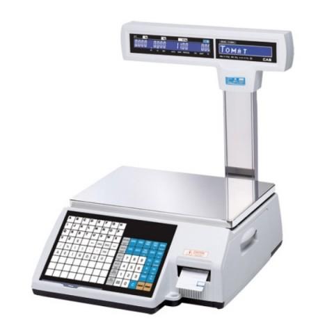 Весы с принтером этикеток CAS CL-5000J-15Р