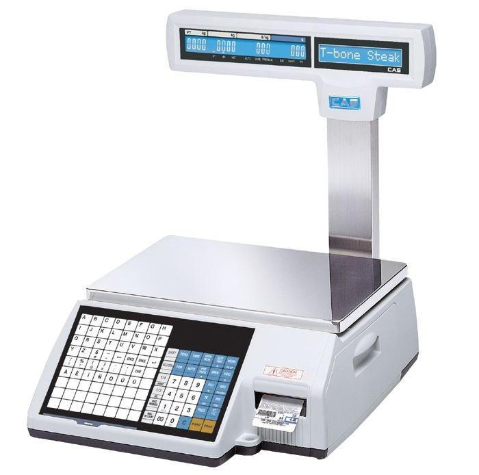 Весы с принтером этикеток CAS CL5000-15P