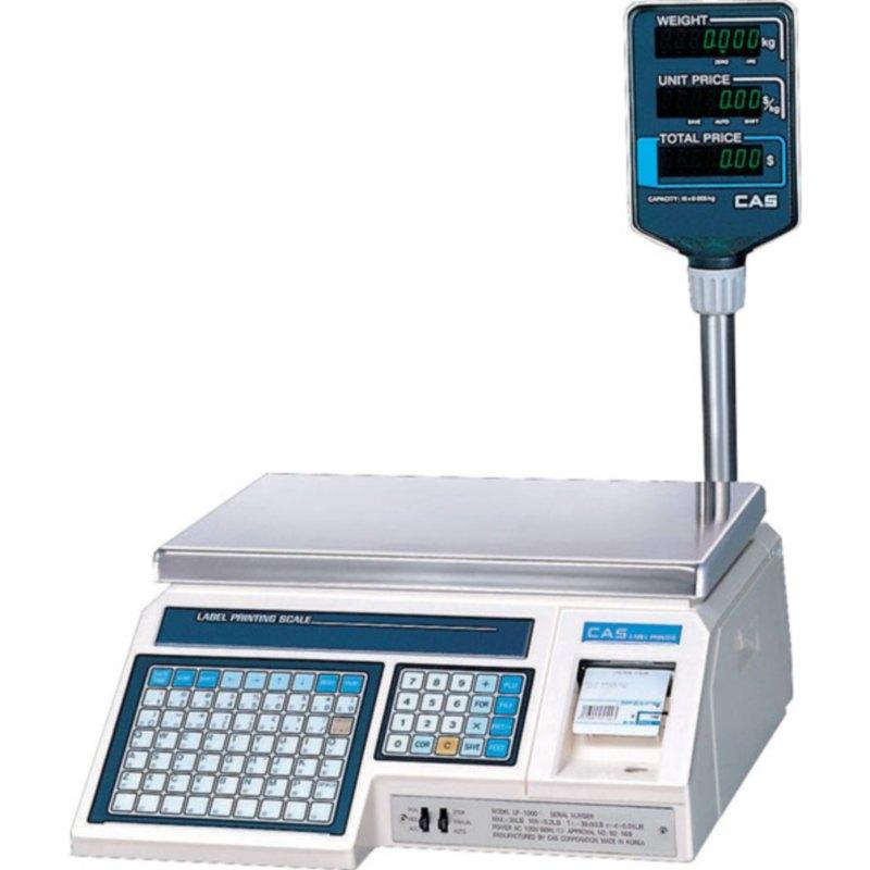Весы с принтером этикеток CAS LP-06R (TCP/IP)