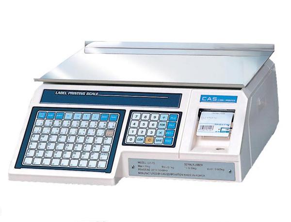 Весы с принтером этикеток CAS-LP-30(1,6)