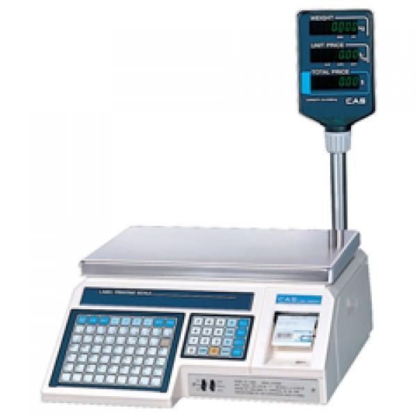 Весы с принтером этикеток CAS LP-30R (TCP/IP)