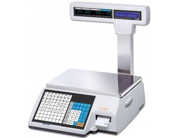 Весы с принтером этикеток CAS LP-II-15