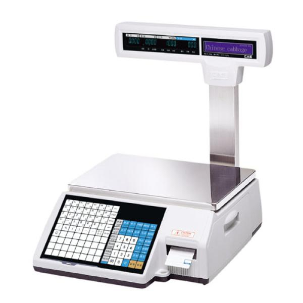 Весы с принтером этикеток CAS-LPII-06
