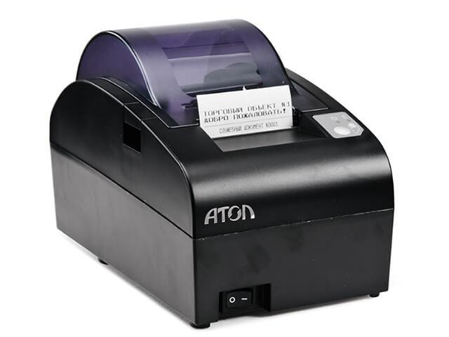 Фискальный регистратор АТОЛ 55Ф с ФН (черный)