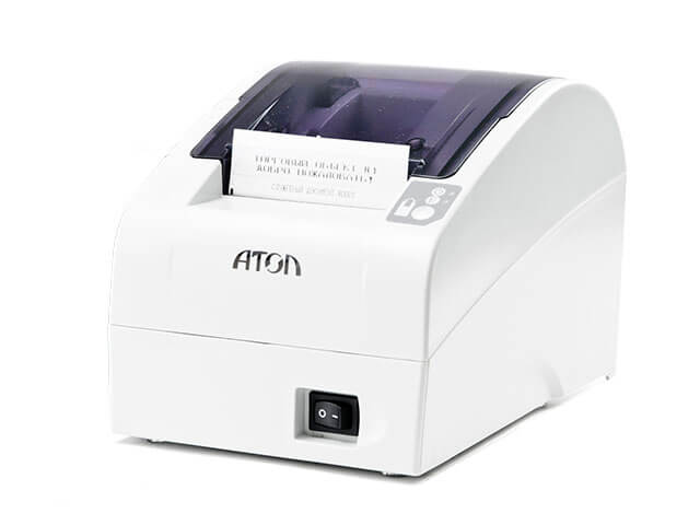 Фискальный регистратор АТОЛ FPrint-22ПТК с ФН (белый)