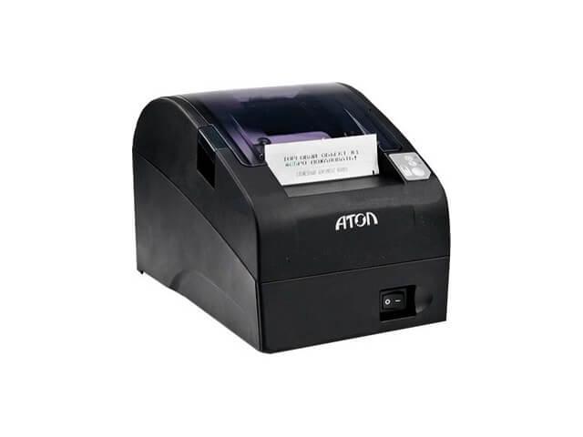 Фискальный регистратор АТОЛ FPrint-22ПТК с ФН (черный)