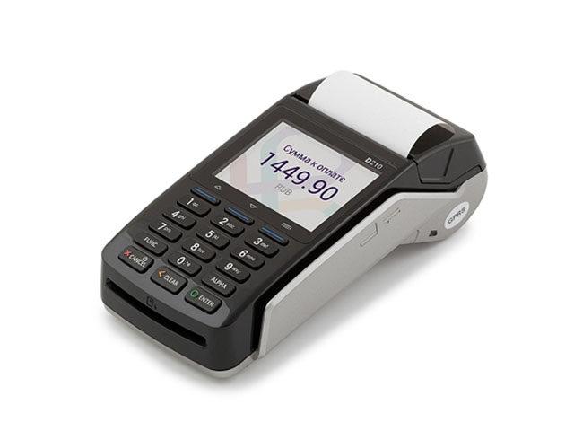 PAX D210E GPRS/WiFi/BT/CTLS