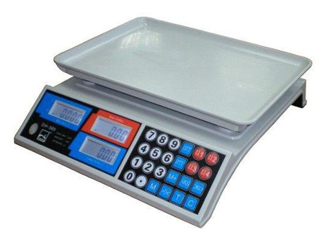 Торговые весы без стойки GreatRiver DH-585 LCD
