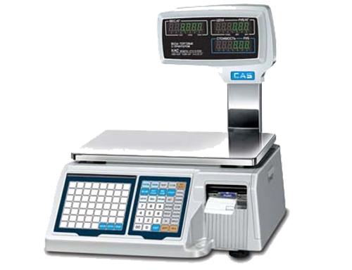 весы с принтером этикеток CAS LP II-30